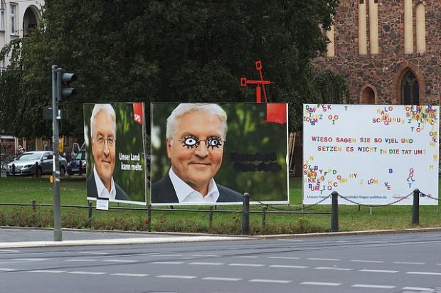 Originalfoto Frank Walter Steinmeier SPD