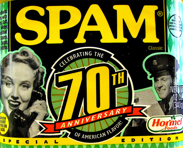spam 70th anniversary