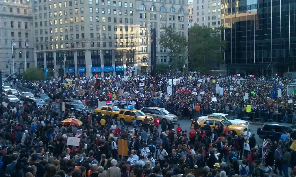 occupy wall street am 5. Oktober 2011