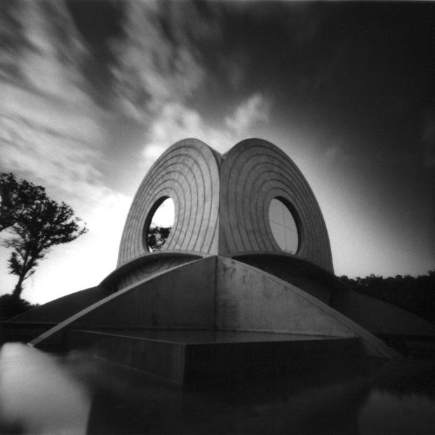 Foto mit selbst gebauter Lochkamera Pinhole Camera Obscura
