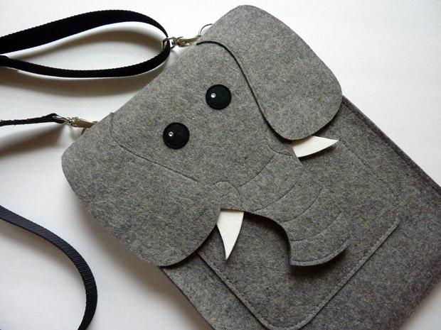 Elefant als Tasche für das MacBook 15 Zoll - von BoutiqueID bei etsy