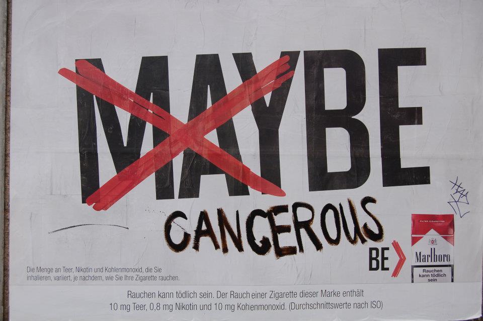 Marlboro Adbusting: Maybe cancerous