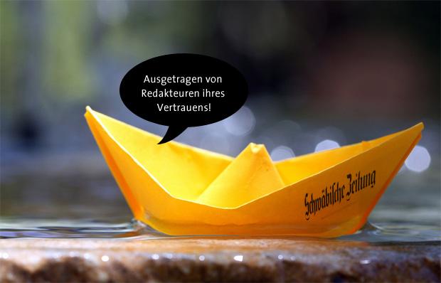 Schwäbische Zeitung - von Redakteuren deines Vertrauens zugestellt
