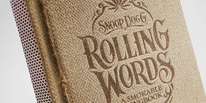 Smoking book Snoop Dogg - Kingsize Slim Rolling Papers