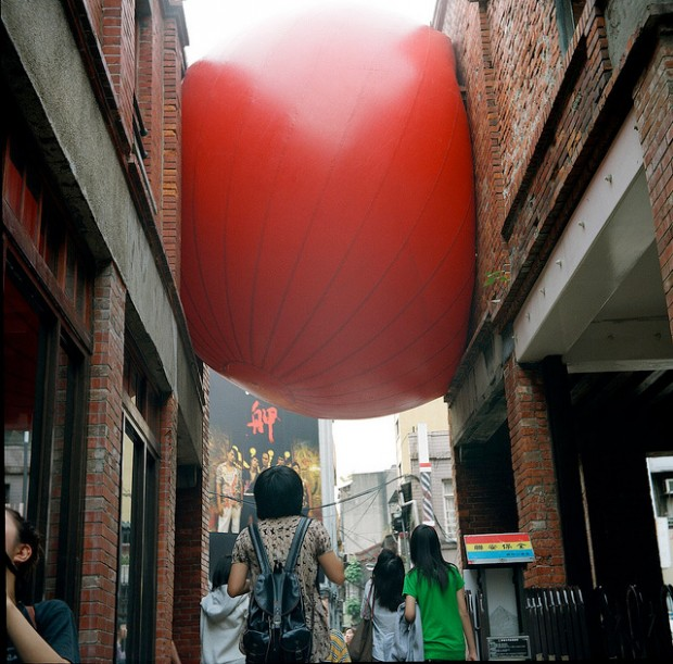 RedBall Project in Taipeh - Foto von Yu Cheng Hsiao