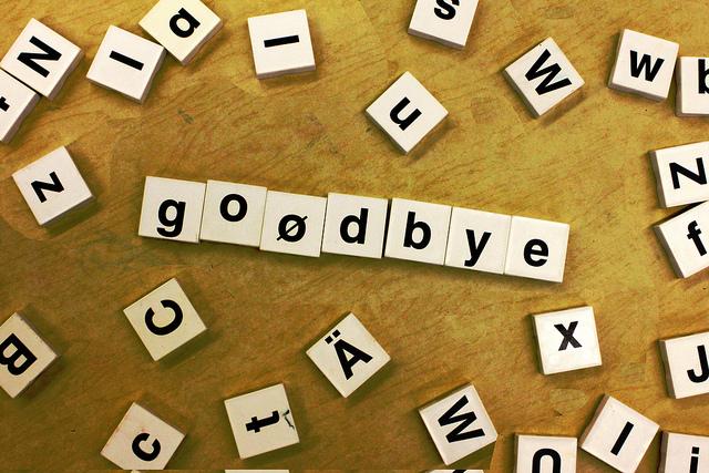 Goodbye Forum ade: Zeit sich zu verabschieden