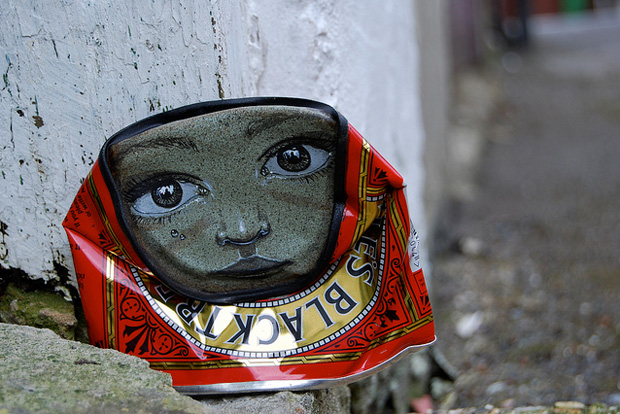 "Streetart Dose von ""My Dog Sighs"""