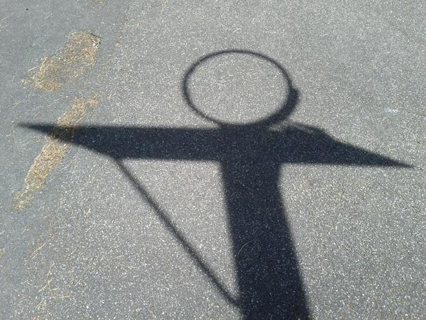 Was wirft hier einen Schatten?
