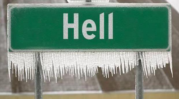 Eher friert die Hölle zu