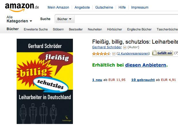 """Amazon Leiharbeiter - Dokumentation """"Ausgeliefert! Leiharbeiter bei Amazon"""""""
