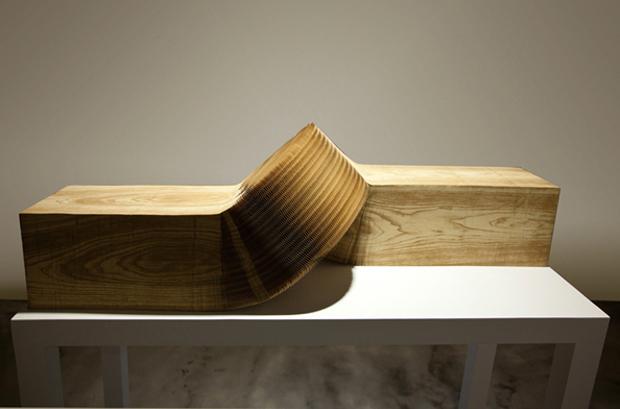 """Courtesy DOMINIK MERSCH GALLERY und Li Hongbo - """", Wooden Cube"""""""