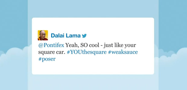 05 Dalai Lama and the pope on Twitter 01 - Jimmy Fallon Late Night Show