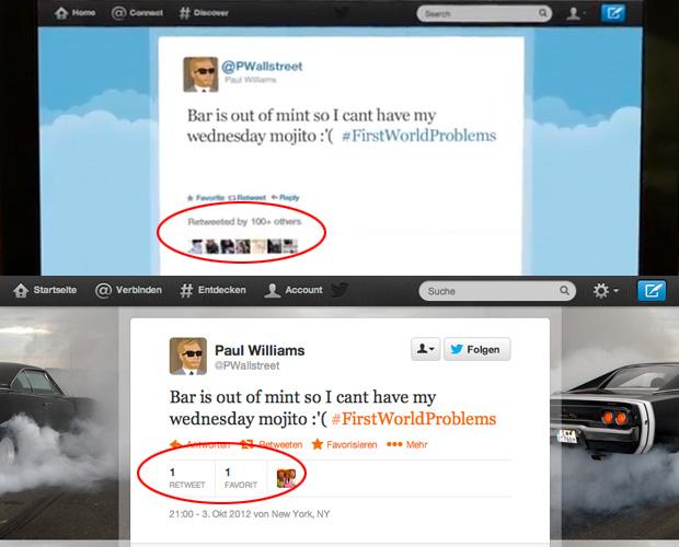 """Tweet von @pwallstreet zur """"Hashtag Killer"""" Kampagne"""
