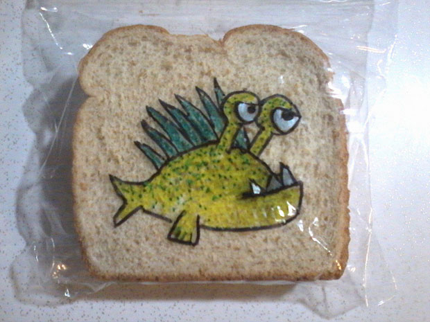 Sandwich Bag by David Laferriere