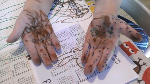 malen ohne papier