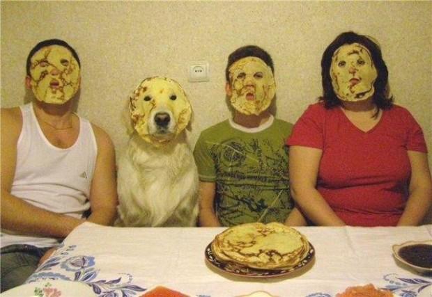 Am Wochenende gab es Pfannkuchen