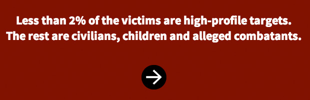 Infografik zu Drohnen-Angriffen in Pakistan