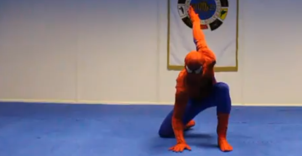 spiderman_taekwondo