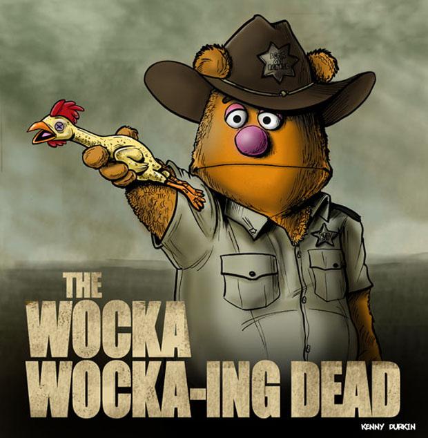 The Wocka Wocka-ing Dead von Kenny Durkin