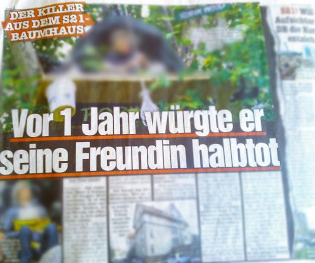 Bild Zeitung vom 05.03.2013