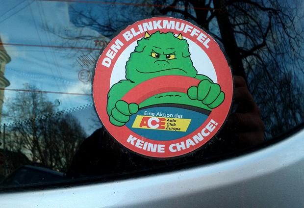 Dem Blinkteufel keine Chance - Stuttgart