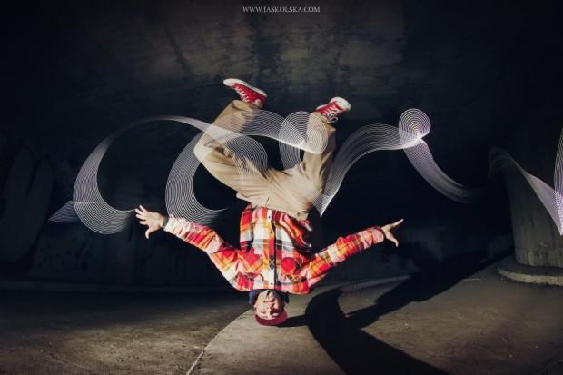 Fotoserie Breakdance Baby von Joanna Jaskólska