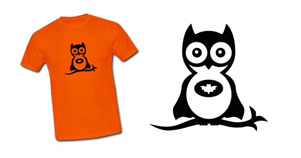 Batowl T-Shirt von Fakeblog