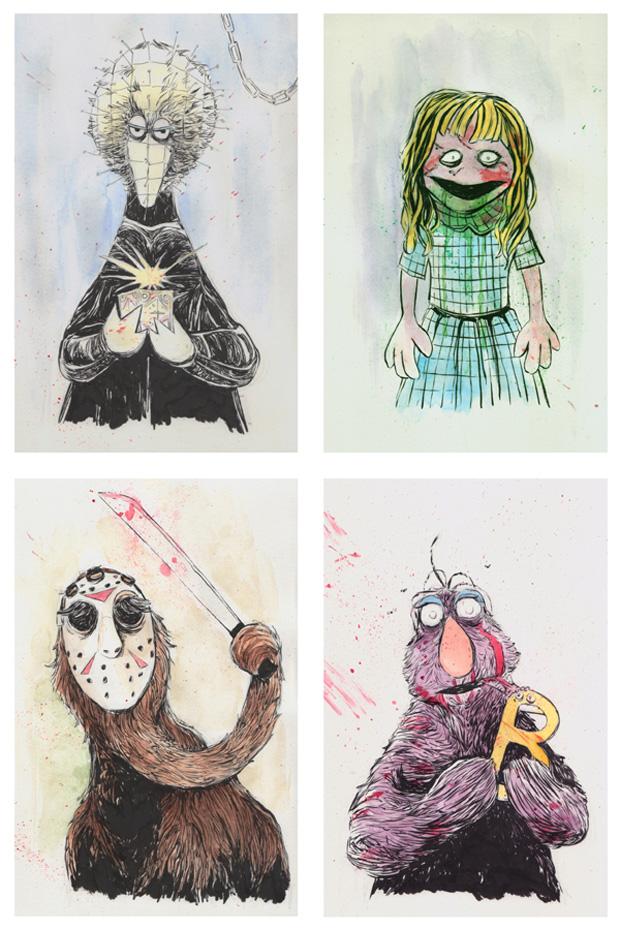 Isaac Bidwell Puppet massacre Sesamestreet