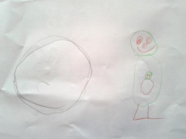 Zeichnung von Kind 1