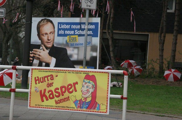 Christian Lindner - der Kasper kommt