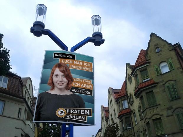 piratenpartei adbusting manche mag ich bundestagswahl 2013 wahlkampf