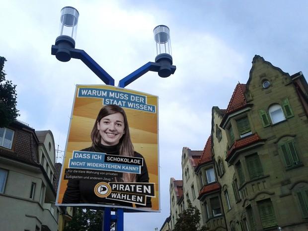 piratenpartei adbusting schokolade bundestagswahl 2013 wahlkampf