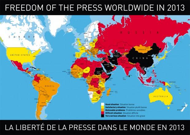 pressefreiheit reporter ohne Grenzen
