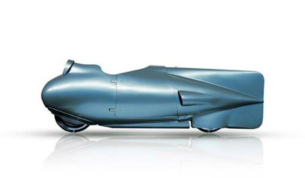 Vespa Torpedo 1951 speed record