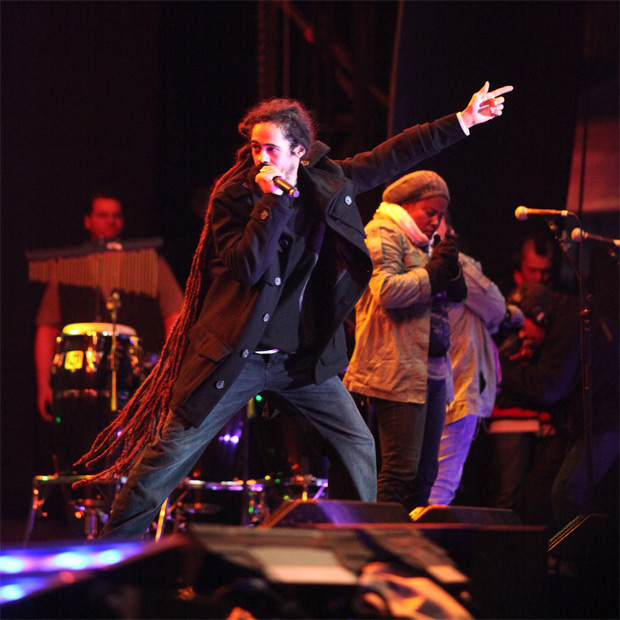 Damian Marley CC BY-SA 2.0 by mark yuen