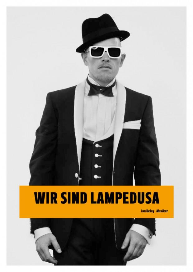 Wir sind Lampedusa Plakat Jan Delay