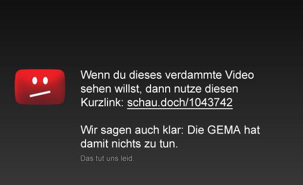 youtube sperrtafel dieses video ist in deinem Land nicht verfügbar