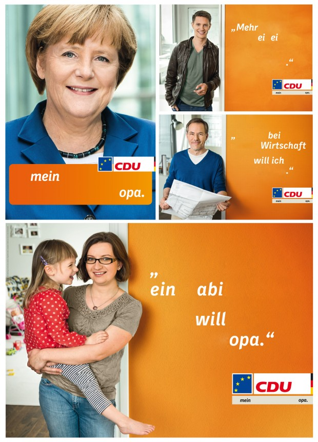 Alle CDU Plakate zur Europawahl 2014