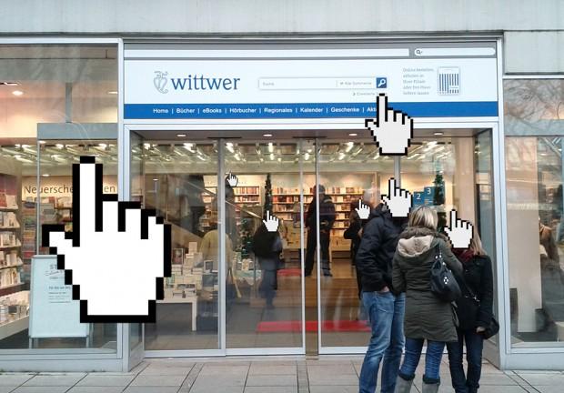 Buchhandlung Wittwer in Stuttgart verbindet Online-Shopping und realem Ladengeschäft