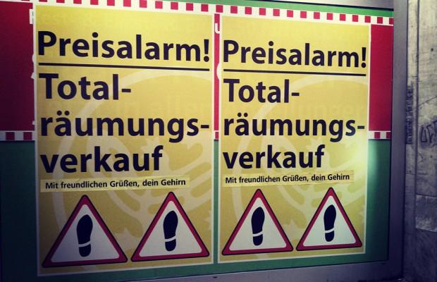 totalräumung räumungsverkauf gehirn winterschlussverkauf sommerschlussverkauf