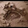 Dirt is good: 18 Tonnen Sand Skulpturen für eine OMO Werbung