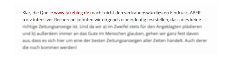 don´t trust fakeblog