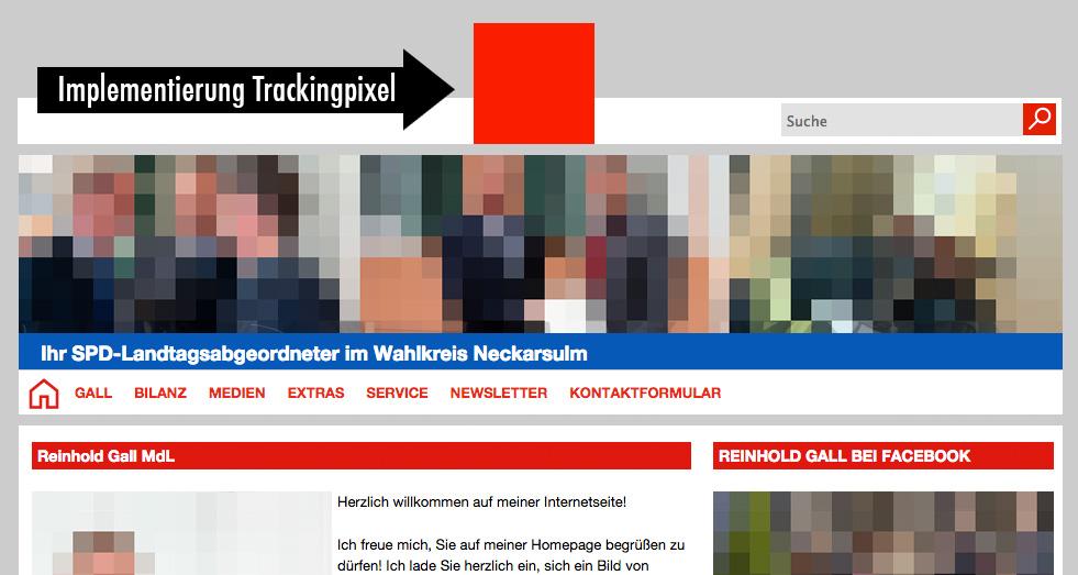 trackingpixel auf spd webseiten vermeintliche freiheitsrechte reinhold gall