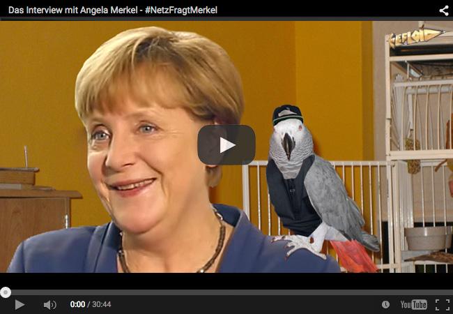 netzfragtmerkel LeFloid fragt Angela Merkel und die freut sich