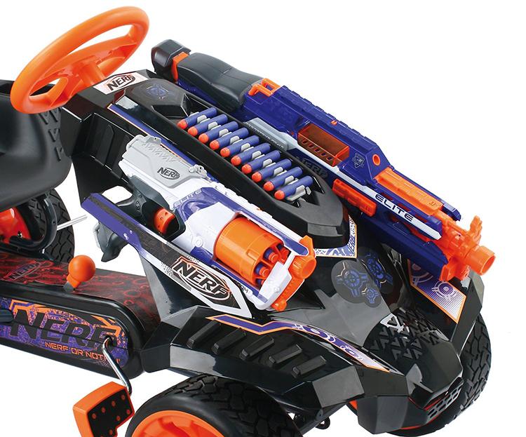 HAUCK Nerf Battle Racer Go Kart