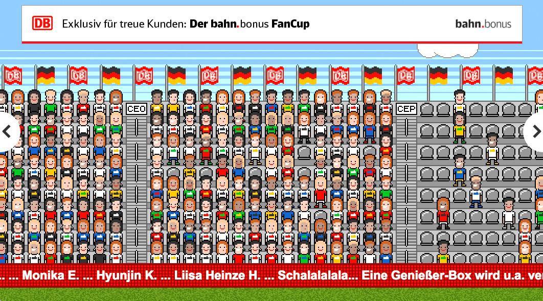 bahn bonus fancup largest online stadium europameisterschaft 2016