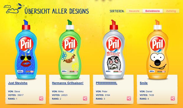 pril designwettbewerb bei facebook