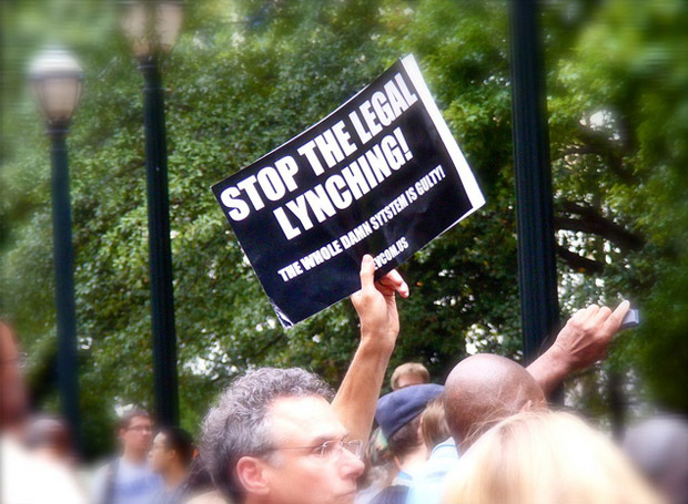 troy davis - stop the legal lynching - the whole damn system is guilty