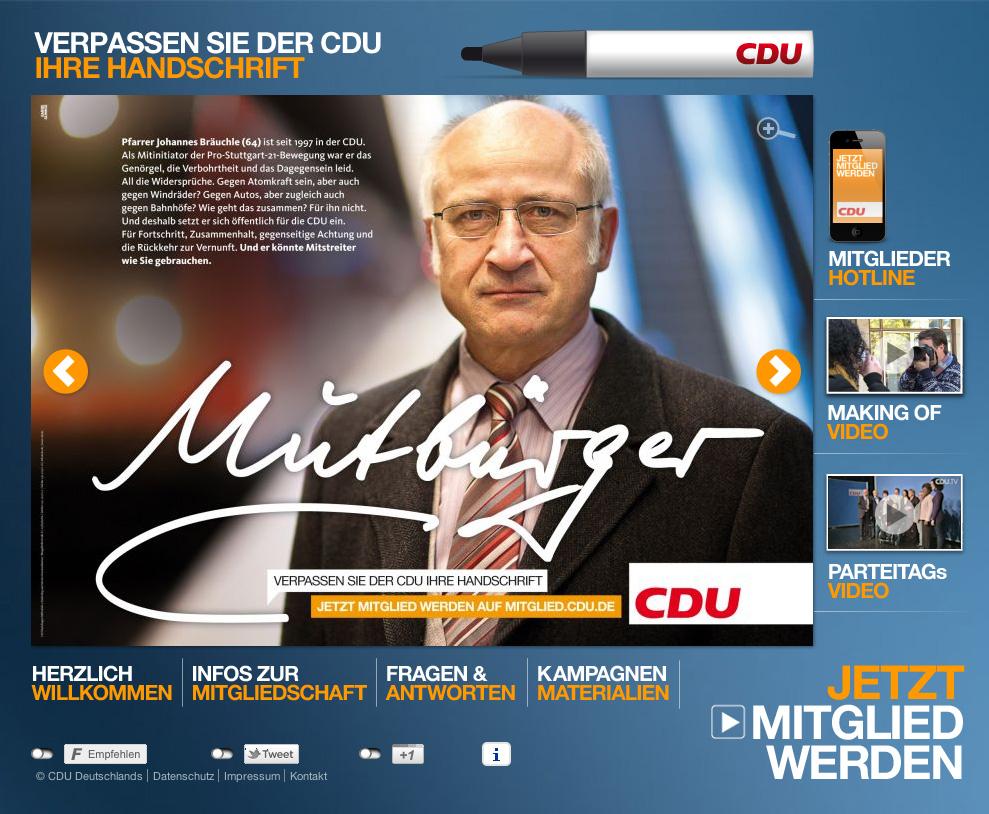 CDU wirbt mit Pfarrer Bräuchle neue Mitglieder