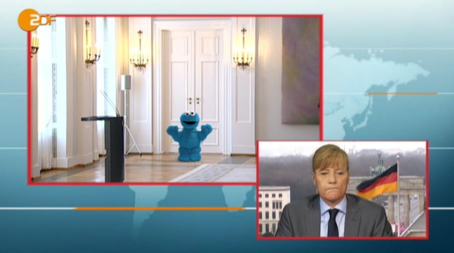 Merkel präsentiert öffentlich den neuen Bundespräsidenten